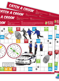 Catch a Crook (Set of 4) – EDUGames