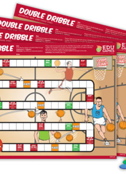 Double Dribble (Set of 4)