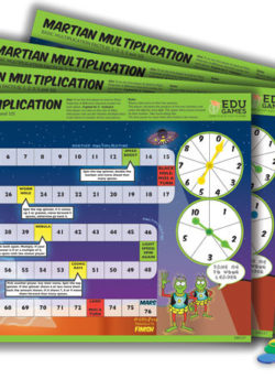 Martian Multiplication (Set of 4) – EDUGames