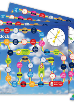 Stop the Clock (Set of 4) – EDUGames