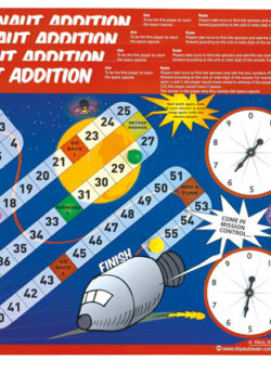 Astronaut Addition (Set of 4)
