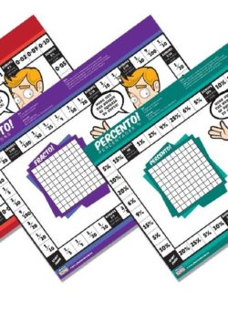 Fracto, Decimo, Percento! (Set of 3) – EDUGames