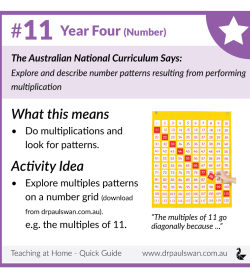 Curriculum Guide for Parents - Year 4