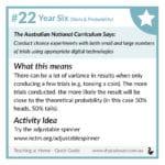 Curriculum Guide Number 22