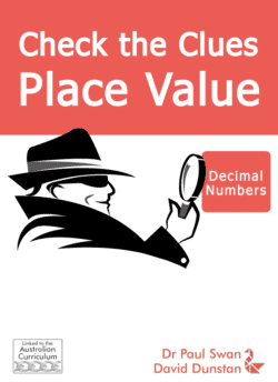 Check the Clues Place Value – Decimal Numbers