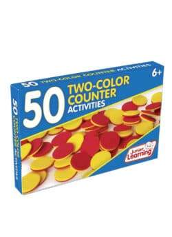 50 Two-Colour Counter Activity Cards