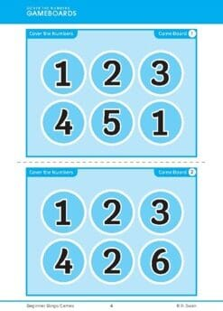 Beginner Bingo – Early Numbers (Download)