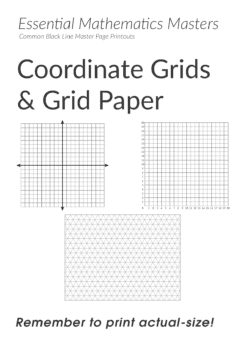 Essential Mathematics Master Pages – Coordinate Grids