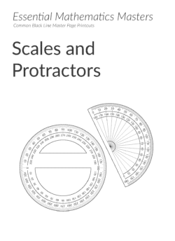Essential Mathematics Master Pages – Scales and Protractors (Download)
