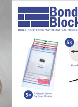 Bond Blocks 4 Block + Materials Core Kit Add-on