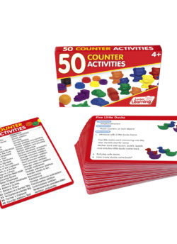 50 Counter Activity Cards
