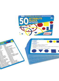 50 Attribute Blocks Activity Cards