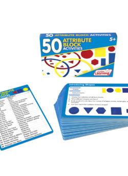50 Attribute Blocks Activity Cards