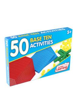 50 Base Ten Activity Cards