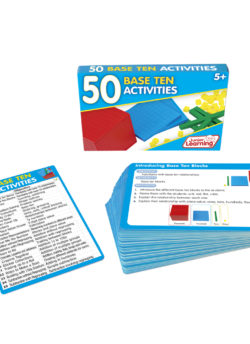 50 Base Ten Activity Cards