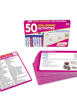 50 100s Board Activity Cards
