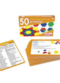 50 Pattern Block Activity Cards