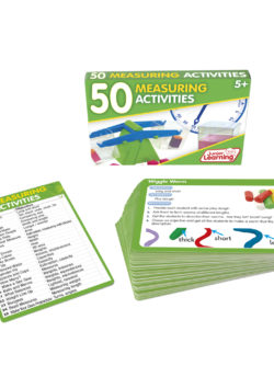50 Measuring Activity Cards