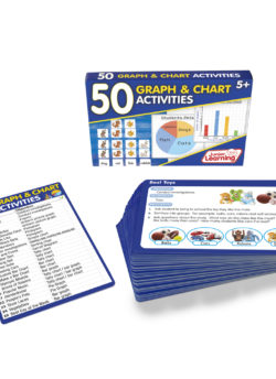50 Graph and Chart Activity Cards