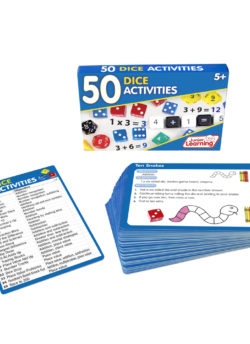 50 Dice Activity Cards