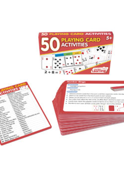 50 Playing Card Activity Cards