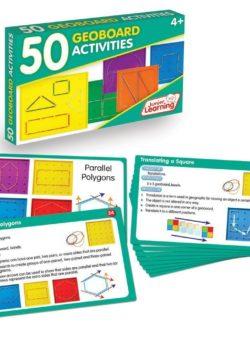 50 Geoboard Activity Cards