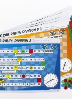 Race Car Rally Set