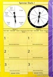 Spinner Darts 1 (Individual)