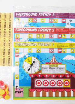 Fairground Frenzy 1,2 & 3  Game Pack