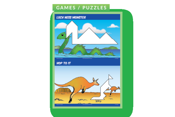 Tangram Puzzles and Answers